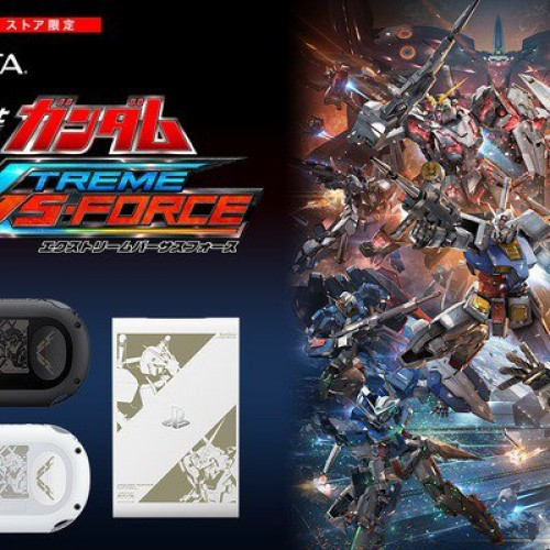 Gundam: Extreme VS Force Limited Edition PS Vita and PlayStation TV announced