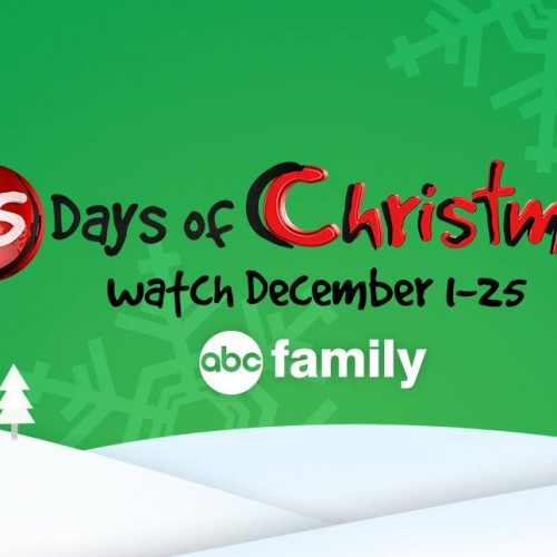 ABC Family's 25 Days of Christmas schedule has been released!