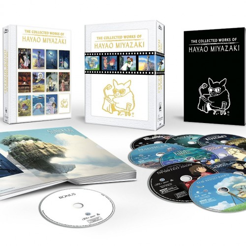 The Collected Works of Hayao Miyazaki (Blu-ray review)
