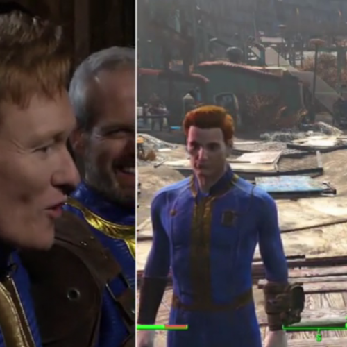 Clueless Gamer: Conan plays Fallout 4