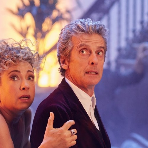 First Look at the Doctor and River in the 2015 Christmas Special