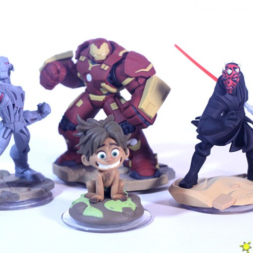 Disney Infinity's Darth Maul, Hulkbuster, Ultron and Spot now available