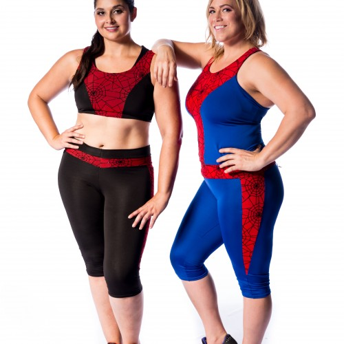 Castle Corsetry releases its new geek-inspired gym wear