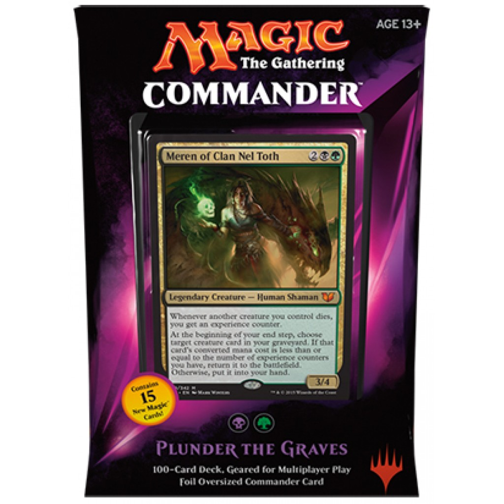 Top 5 mtg commander 2015 decks nerd reactor for Best cards for 2015