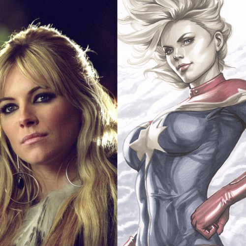 Sienna Miller would be interested in playing Captain Marvel