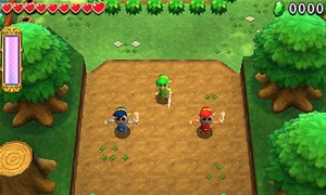 Zelda Tri Force game play single player