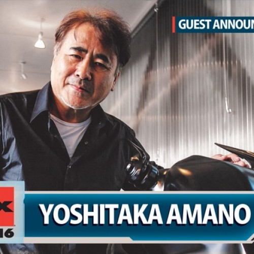 Final Fantasy illustrator Yoshitaka Amano announced as guest for Anime Expo 2016