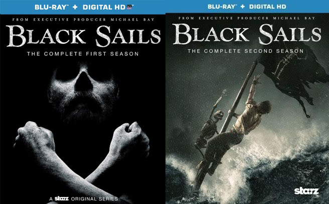 black sails season 1 and 2 blu-ray