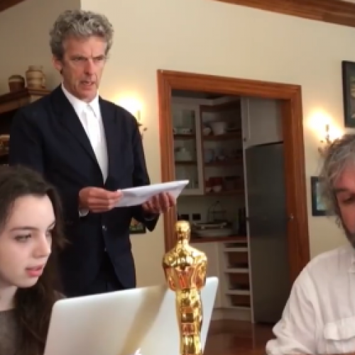 Peter Jackson gets a visit from The Doctor to direct an episode of Doctor Who