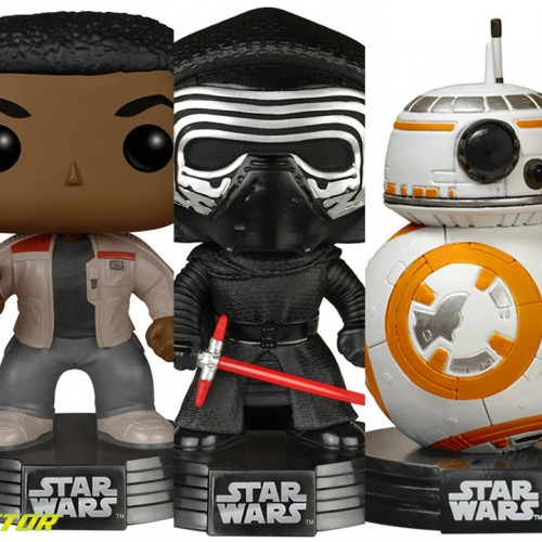 Giveaway – Funko Pop's Star Wars: The Force Awakens figures