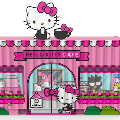 Hello Kitty Cafe Pop-Up Container is coming to Irvine, CA next weekend!