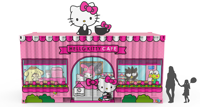 e6674219c Sanrio just announced they will be opening their pop-up Hello Kitty Cafe at  the Irvine Spectrum Center later this month. They aren't taking over a  store.