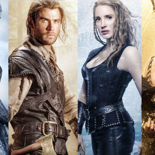 New character posters for The Huntsman starring Chris Hemsworth