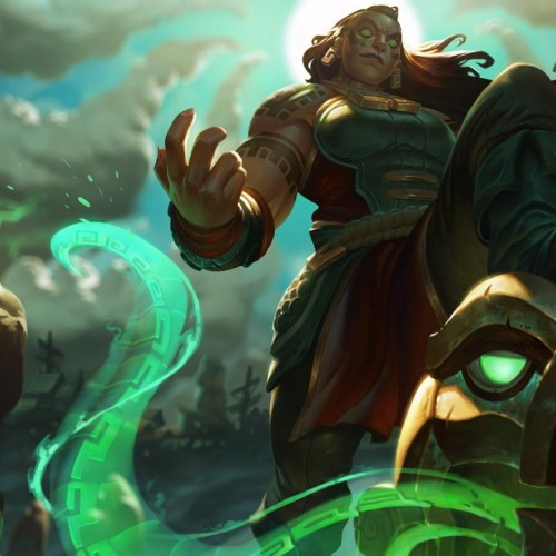 League of Legends spotlight: Summon the Kraken Priestess Illaoi