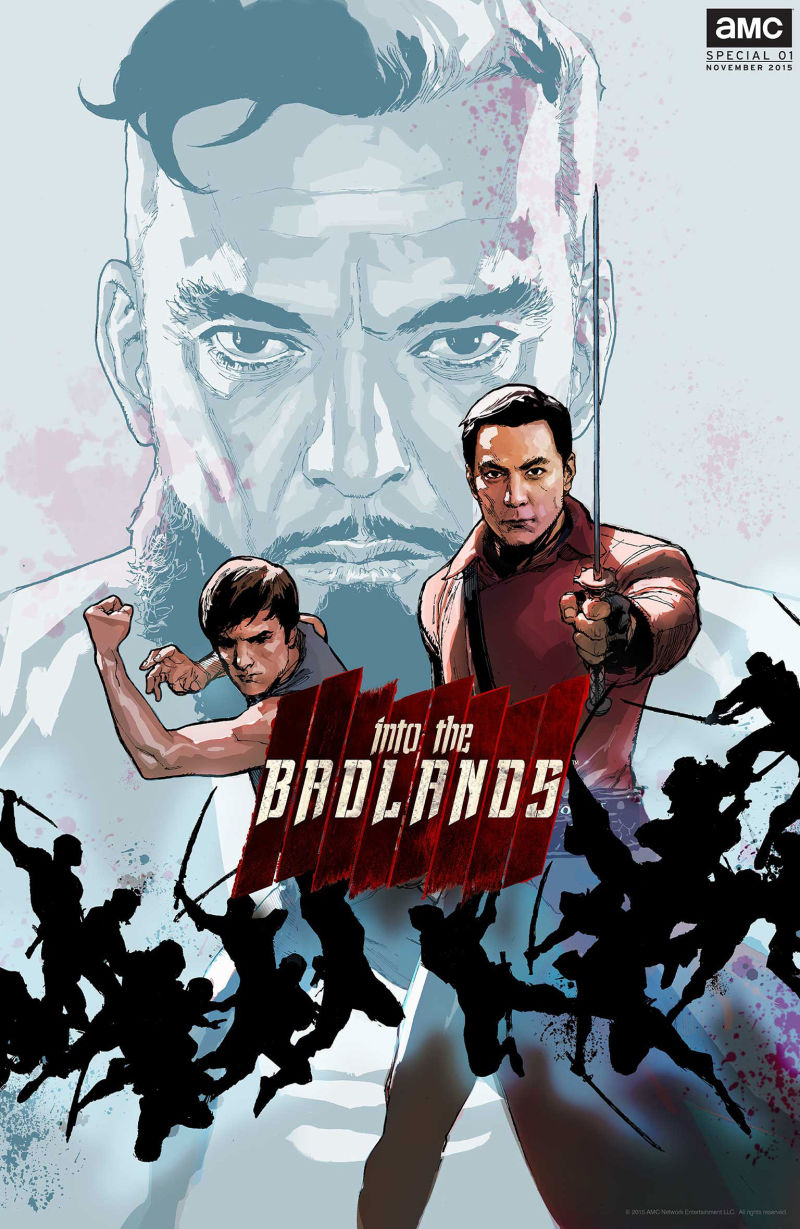Amc s into the badlands has come out with its own comic nerd reactor