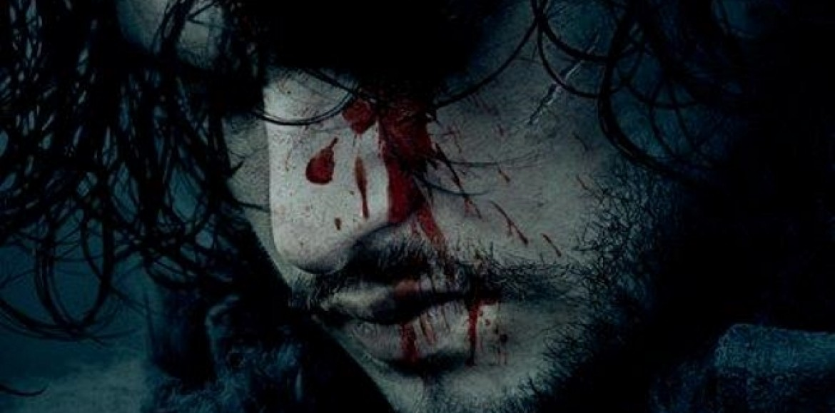 HBO promotes the new season of Game of Thrones with a bloody Jon Snow