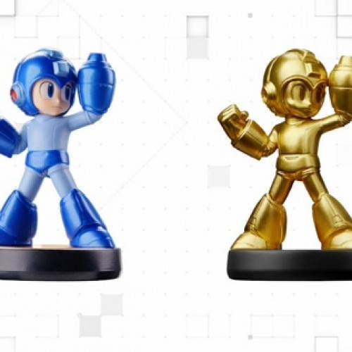 Gold Mega Man amiibo coming February 2016