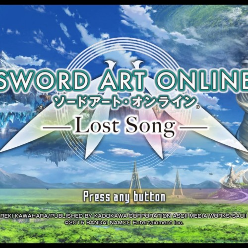 Sword Art Online: Lost Song (PS4 review)