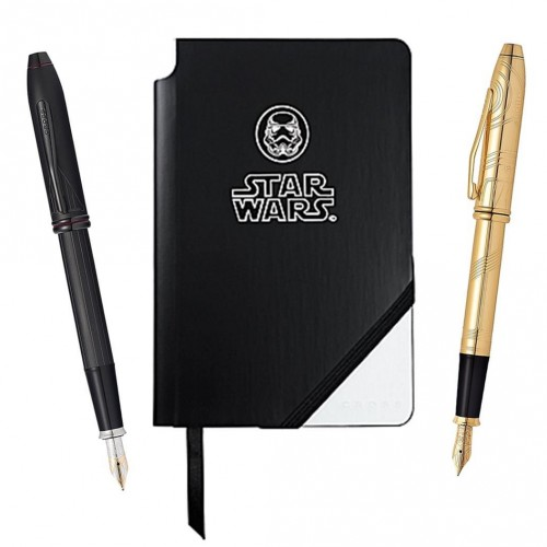 The finest writing instruments this side of the galaxy, and they can be yours!