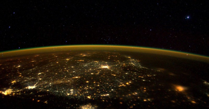 ISS Astronaut Scott Kelly // Southern India