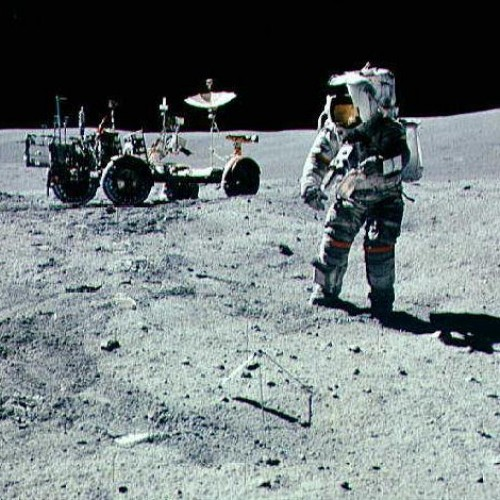 Physicist finds crash site on the moon
