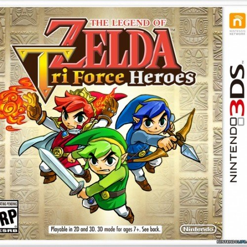 Legend of Zelda: Tri Force Heroes (3DS review)