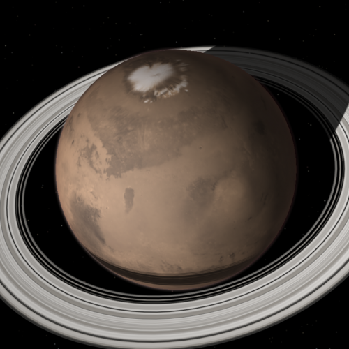 Could Mars have rings one day?