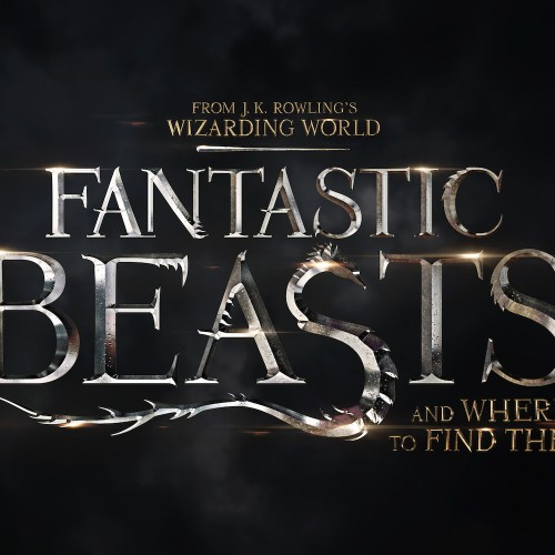 JK Rowling's Fantastic Beasts and Where to Find Them title treatment revealed