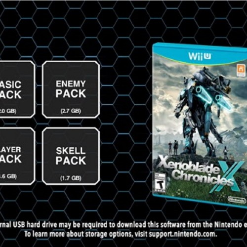 Nintendo releases four 'data packs' to improve load times for Xenoblade Chronicles X