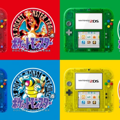 Pokémon-themed 2DS systems to be released in Japan