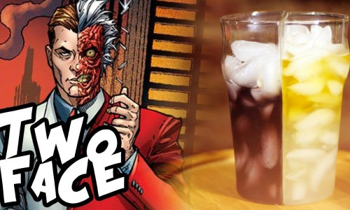 'Two-Face' cocktail satisfies both the good and evil inside you