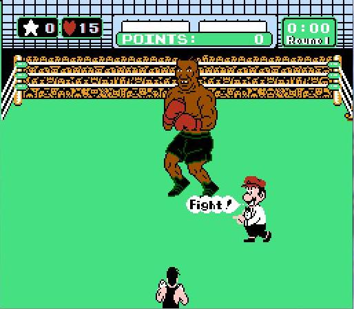 Little Mac K.O.s Mike Tyson on a pink 'hoverboard' - Nerd ...
