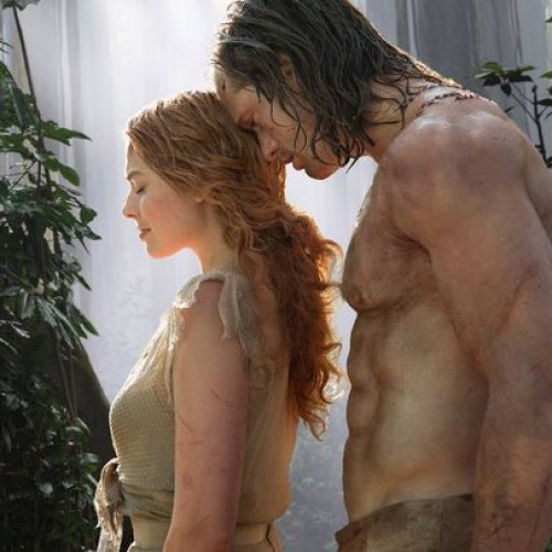 Alexander Skarsgard and Margot Robbie as Tarzan and Jane in first look at The Legend of Tarzan