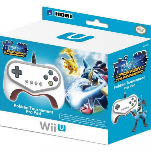 Official Pokkén Tournament controller available on Amazon