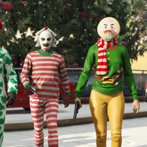Rockstar releases information on its GTA Online annual Festive Surprise
