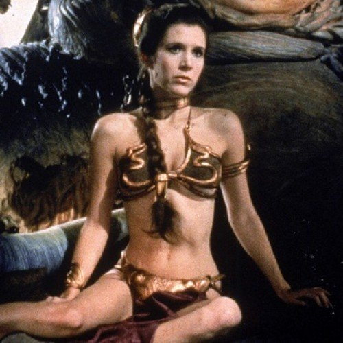 Carrie Fisher thinks the Slave Leia merchandise controversy is asinine