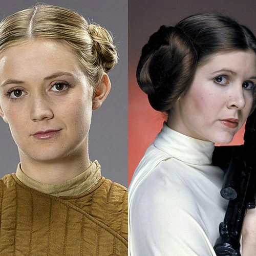 First look at Carrie Fisher's daughter in Star Wars: The Force Awakens