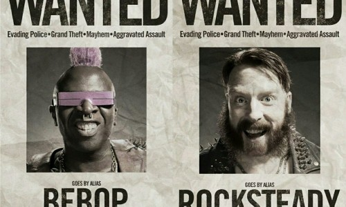 New TMNT 2 wanted posters for Bebop and Rocksteady released