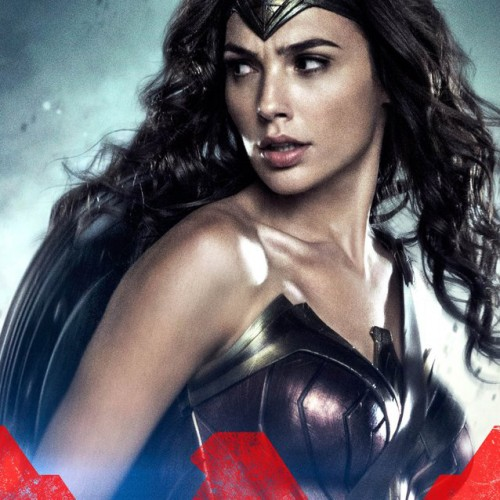New Batman v Superman character posters featuring the DC trinity