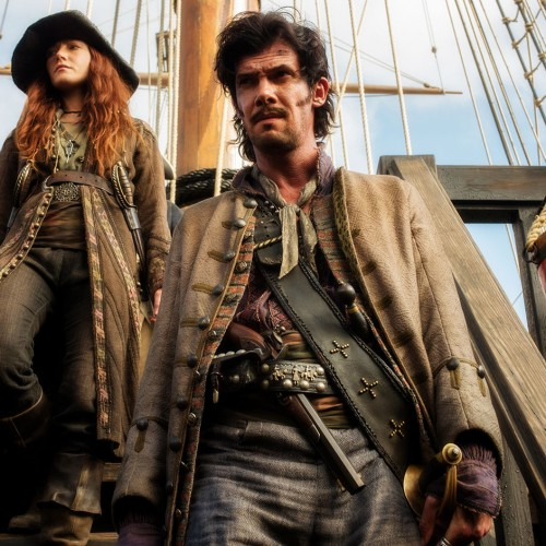 The real-life pirates of Black Sails: Jack Rackham and Anne Bonny