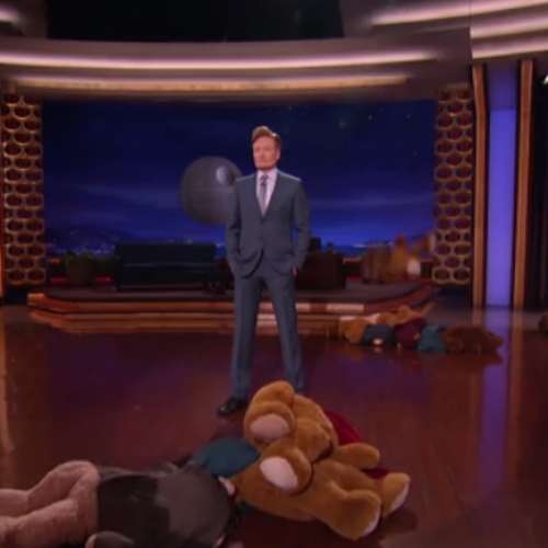 Conan mass murdered a bunch of Ewoks