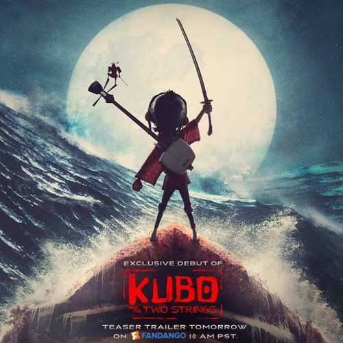 New poster released for LAIKA's Kubo and the Two Strings