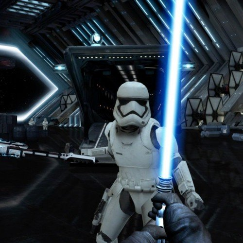 Star Wars browser game has you deflecting blasters with lightsaber using your phone