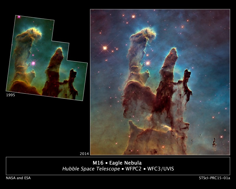 Pillars of Creation // NASA