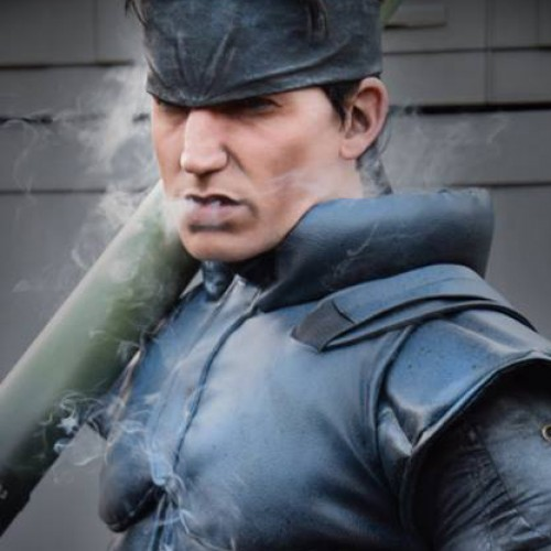 Metal Gear Solid's Solid Snake brought to life (cosplay)