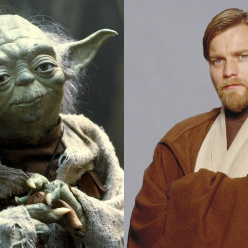 Yoda and Obi-Wan Kenobi have a small cameo in Star Wars: The Force Awakens?