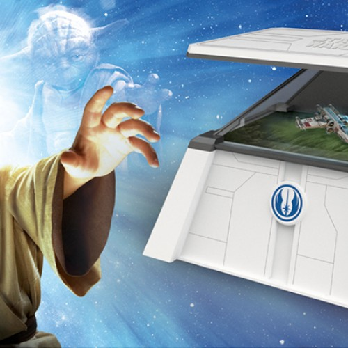 Star Wars toys – The Force Trainer II: Hologram Experience