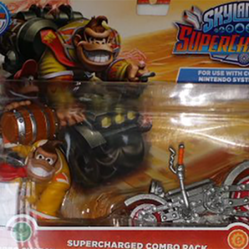 Donkey Kong and Boswer Skylanders Superchargers combo packs now being sold