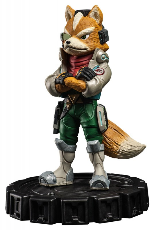 Limited Edition Star Fox Statue Coming To GameStop For 7999