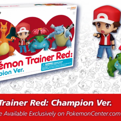 Pokémon's 20th anniversary will include Super Bowl spot and Red Championship edition Nendroid